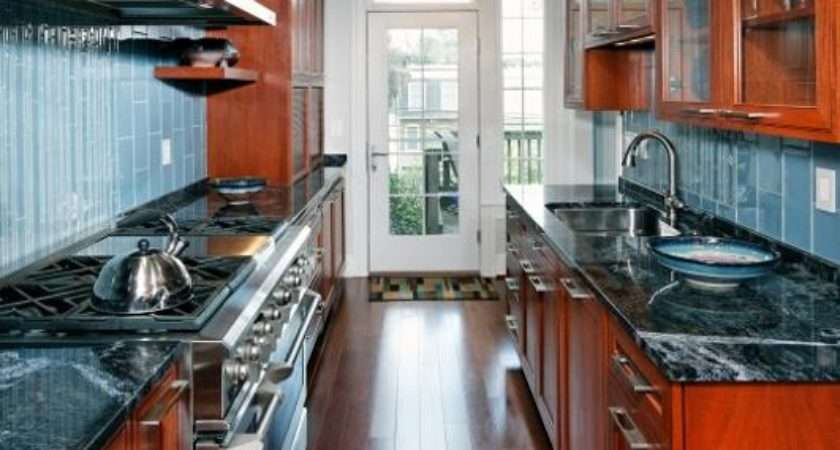 Contemporary Kitchen Cabinets Galley Design