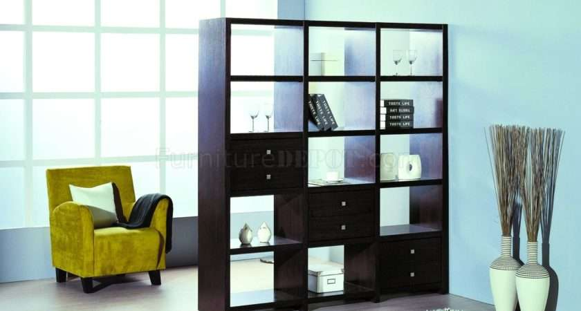 Contemporary Shelf Unit Room Divider Additional Drawers Bhsu Bisect