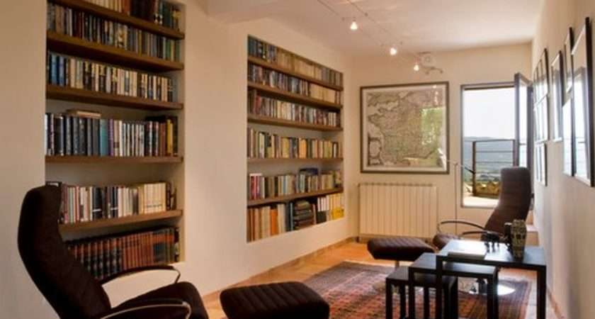 Contemporary Shelving Options Trendy Living Rooms