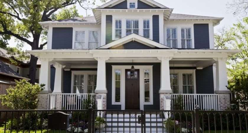 Contemporary Victorian House Color Schemes Style