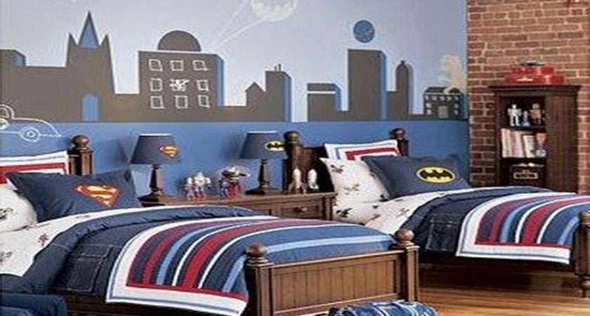 Cool Above Section Game Themes Boy Room Decorating