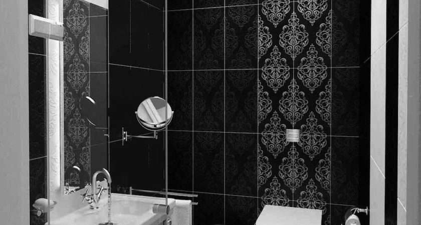 Cool Black White Bathroom Design Ideas