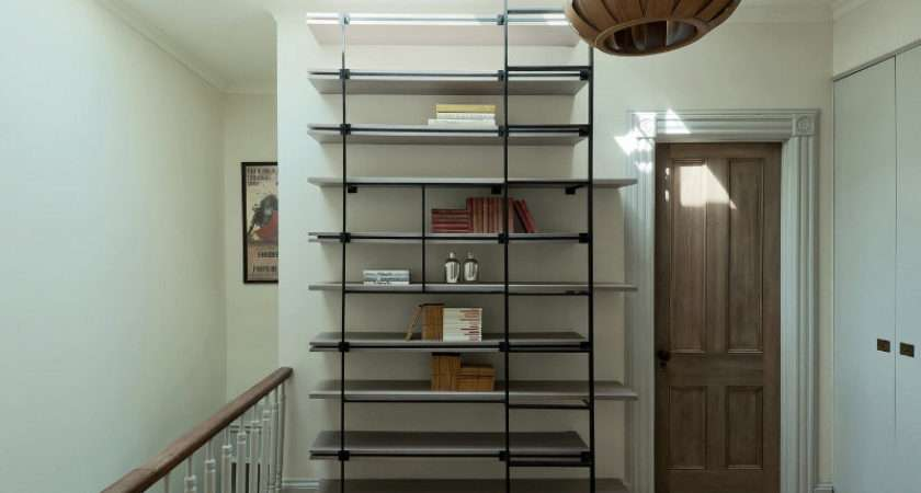 Cool Bookcase Ladder Small Spaces Digsdigs