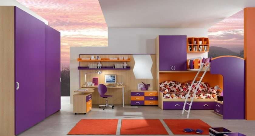 Cool Furniture Teenage Bedroom