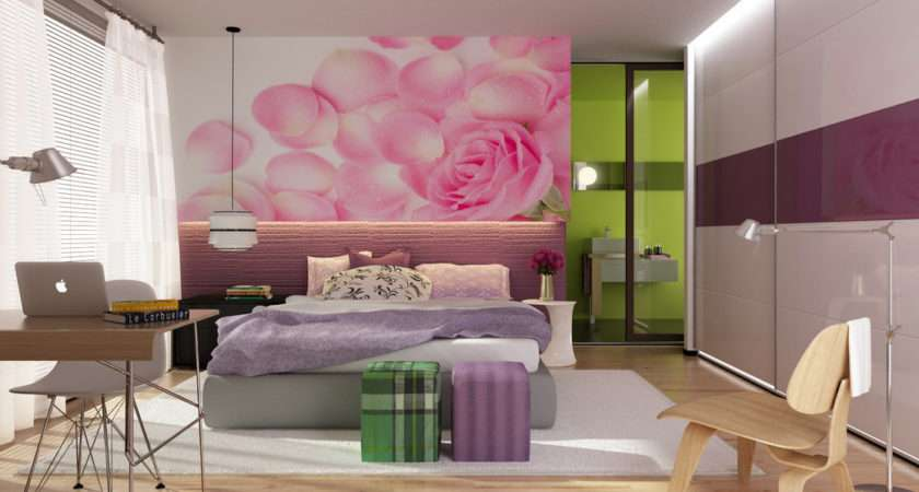 Cool Girly Bedroom Ideas Design