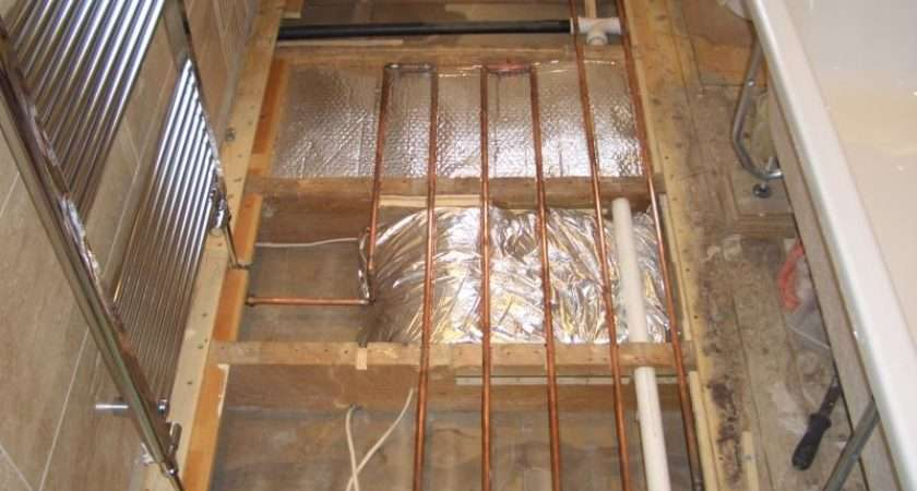 Copper Tube Underfloor Heating Bathroom Diynot Forums