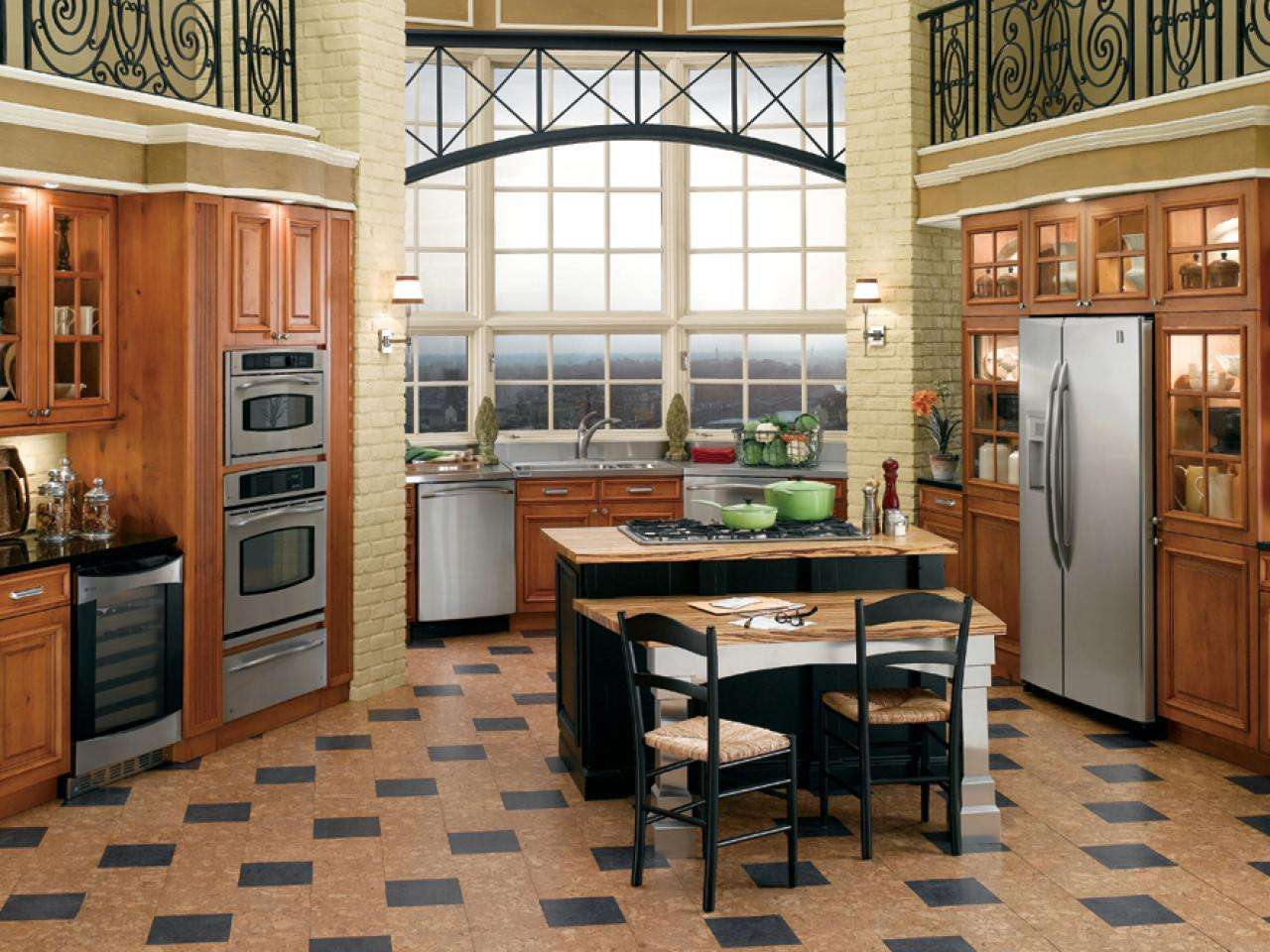 Cork Flooring Your Kitchen Designs Choose