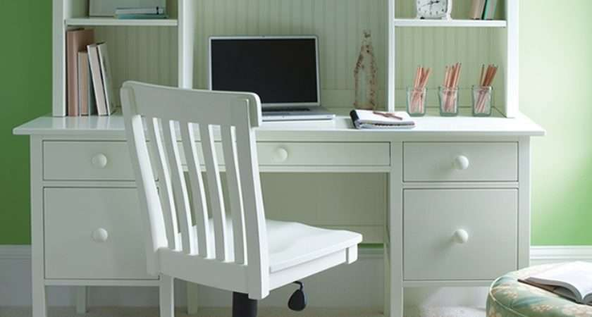 Cottage Coastal Style Office Furniture Painted Solid