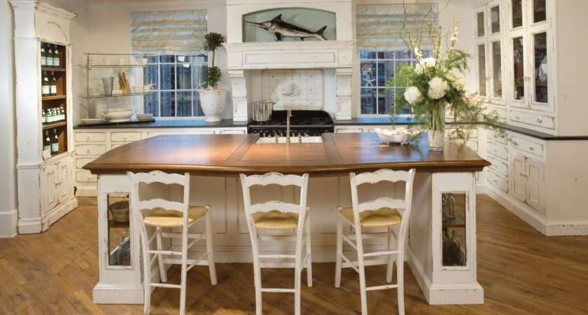 Cottage Style Kitchen Island Outdoor Ideas
