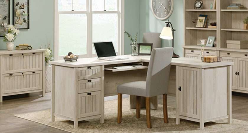 Cottage Style Office Furniture Coastal Beach Home