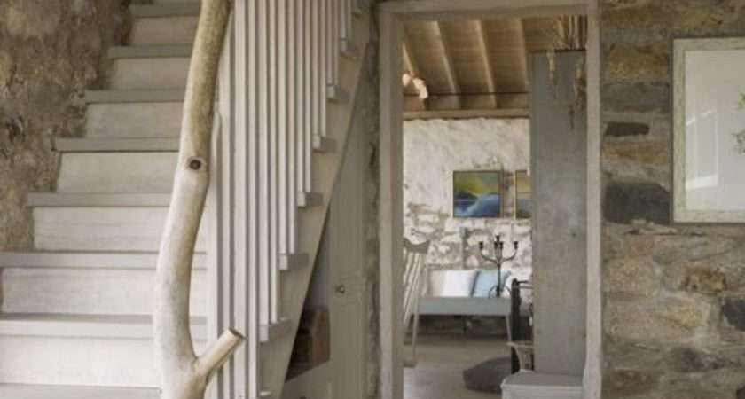 Cottages Staircase Design Ideas Renovations Photos