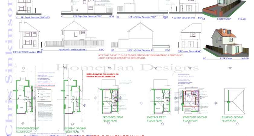 Coulson Attic Conversion Plans Homeplan Designs