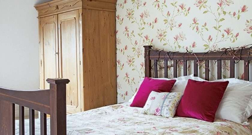Country Bedroom Floral Brown Furniture