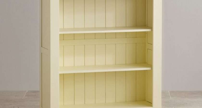 Country Cottage Small Painted Bookcase Solid Oak