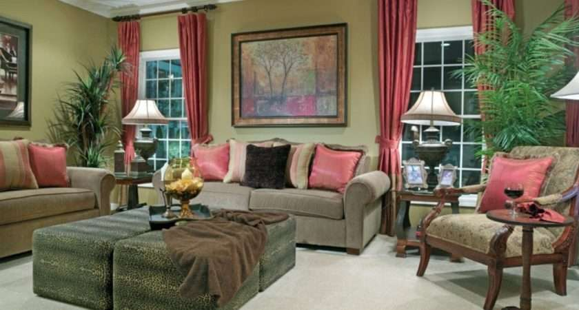 Country Curtains Living Room Decoration Fabric