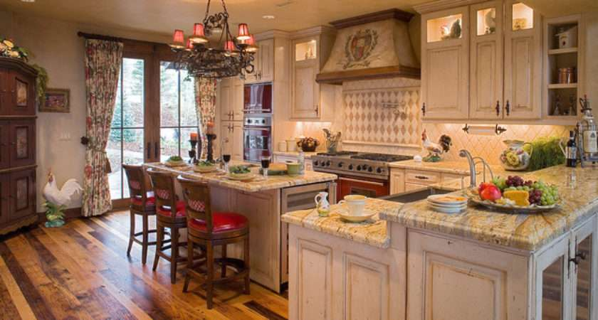 Country French Cottage Traditional Kitchen Salt Lake