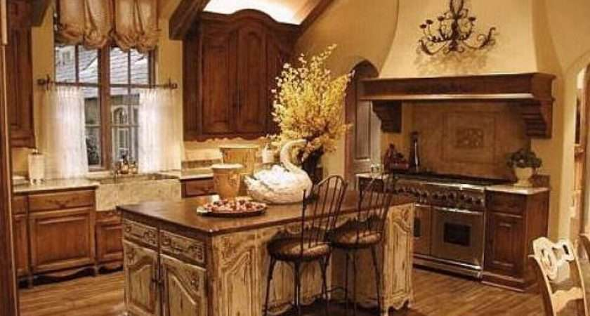 Country French Kitchen Decor Combines Charm Rustic Beauty