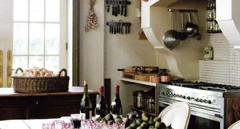Country French Kitchens Charming Collection
