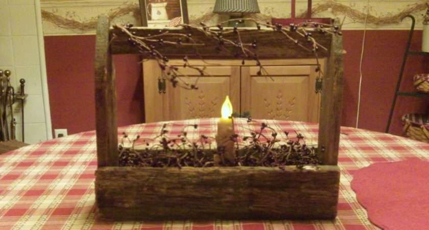 Country Home Decorating Ideas Primitive Toolbox Michelle
