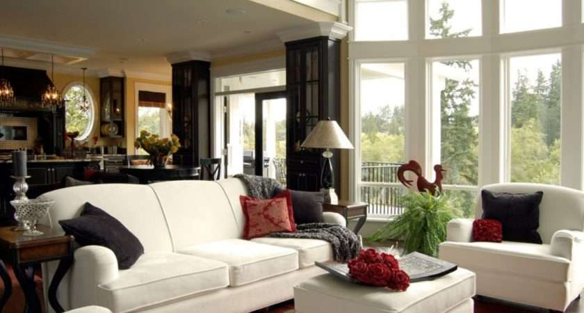 Country House Living Room Design