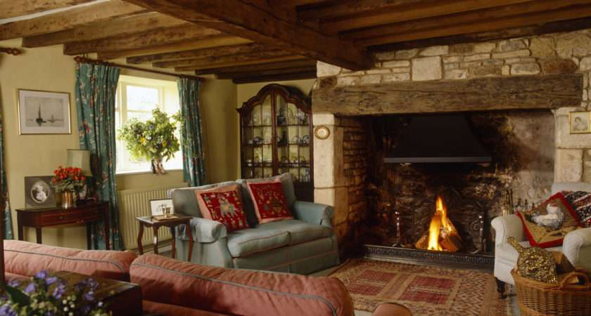 Country Living Room Photos