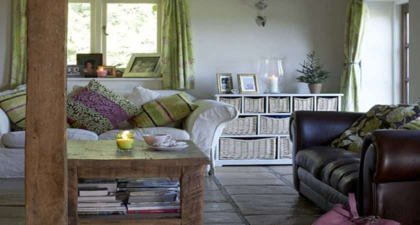 Country Living Rooms Cottage Modern