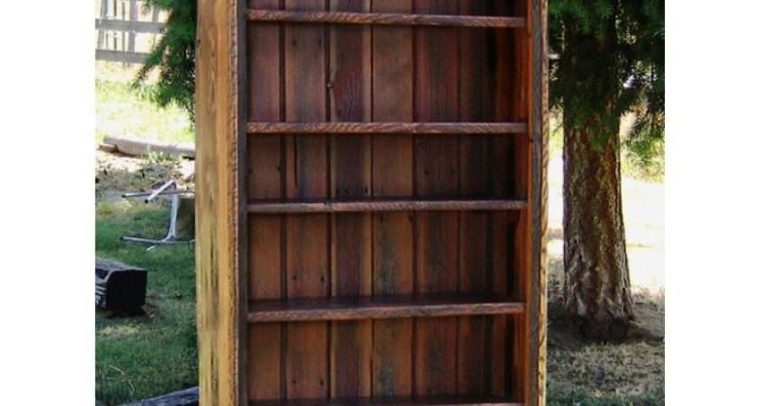 Country Roads Reclaimed Wood Bookcase Idaho Shop