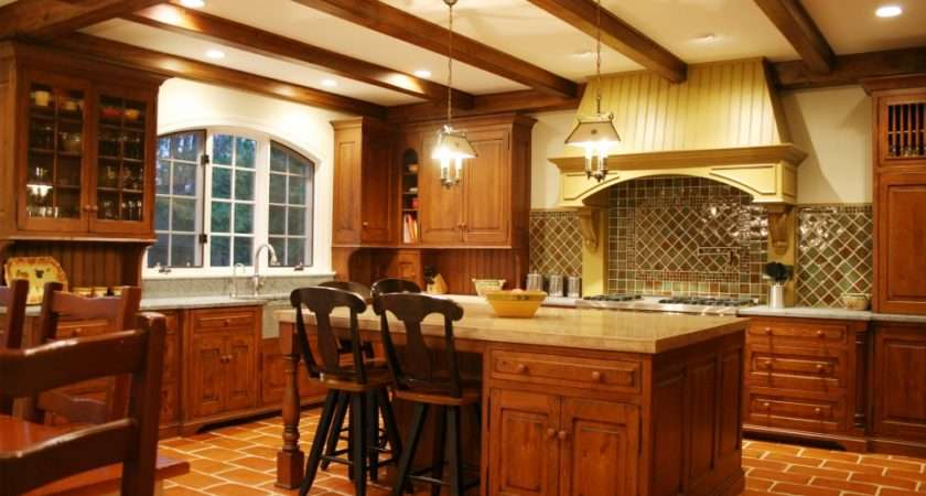 Country Rustic Kitchen Bluebell Kitchens