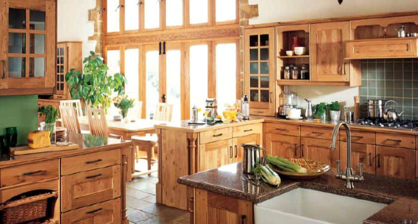 Country Style Kitchens Decorating Ideas Modern Furniture Deocor