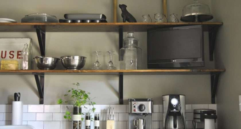 Country Style Wall Shelves