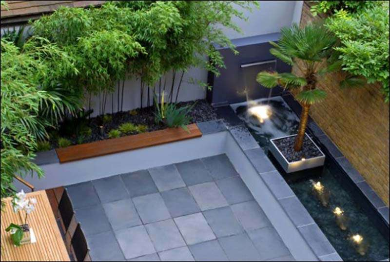 Courtyard Garden Design Ideas Interior Designs Architectures