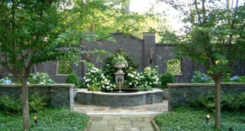 Courtyard Gardens Ideas Remodel Decor