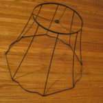 Cover Lamp Shade Wire Frame Asian
