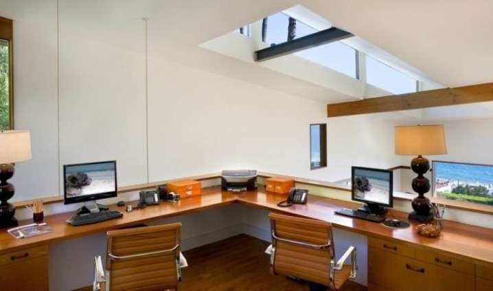 Cozy Attic Home Office Designs Top Dreamer