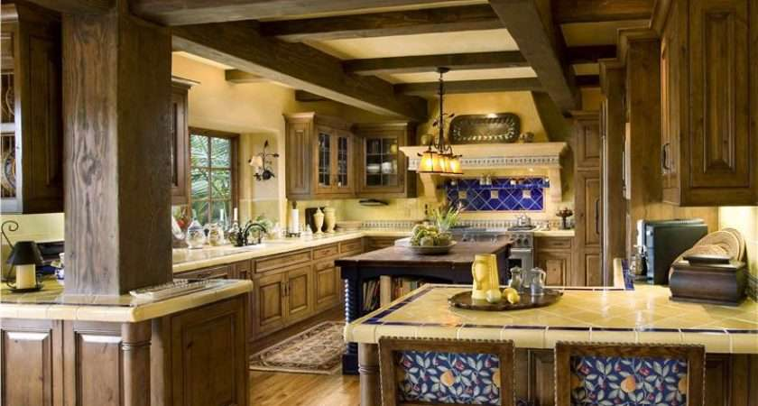 Cozy Country Rustic Kitchen Tanya Shively Asid Leed