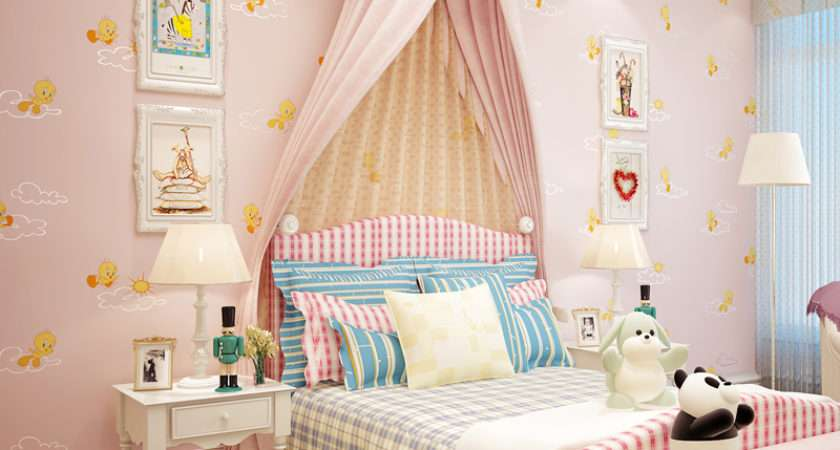 Cozy Kids Bedroom Interior Decorating Ideas