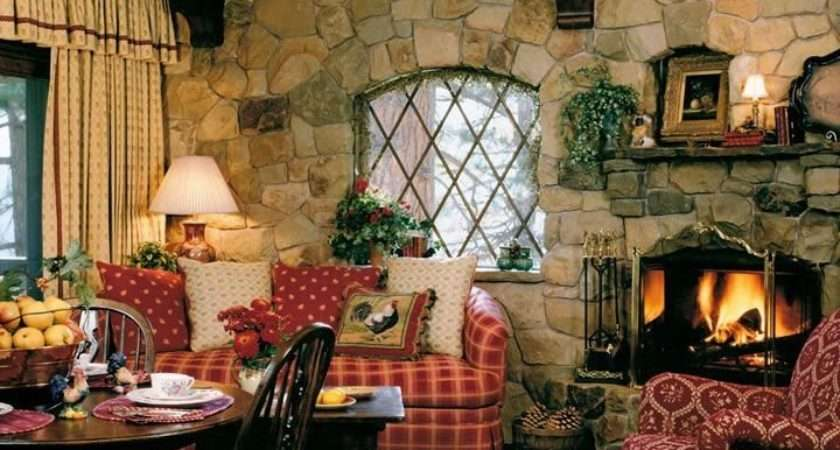 Cozy Small Living Room Ideas English Cottage