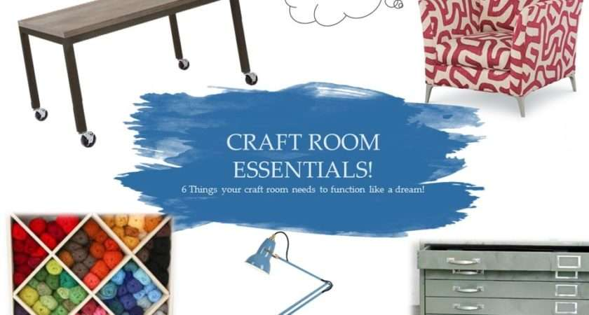 Craft Room Essentials Things Your Needs