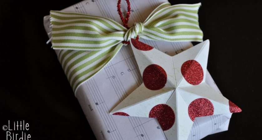 Craft Solutions Last Mintue Christmas Decorations Paper Star