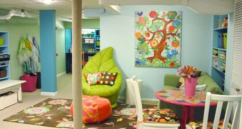 Crazy Doodles Creative Fun Kids Playroom Design Ideas