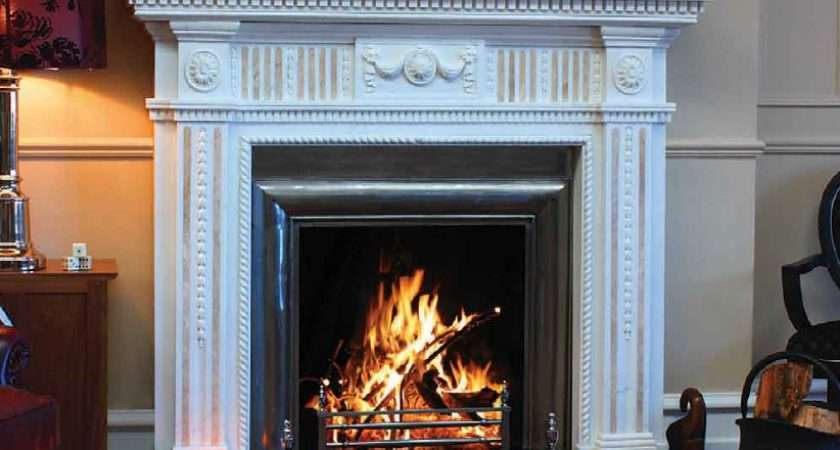 Cream Marble Fireplaces House Stoves Dundalk