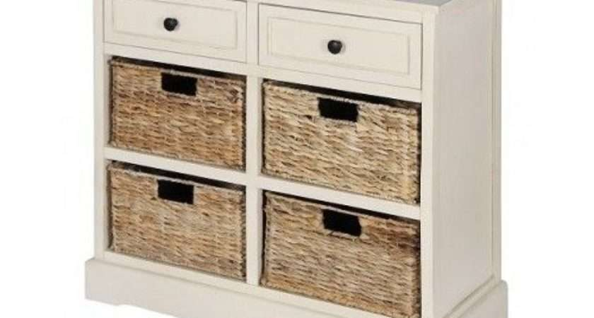 Cream Storage Chest Bedroom Chests Drawers Hallway