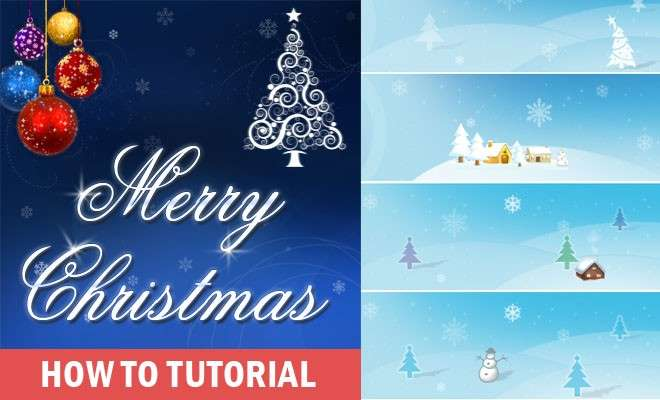 Create Beautiful Christmas Greeting Card Make Your Own