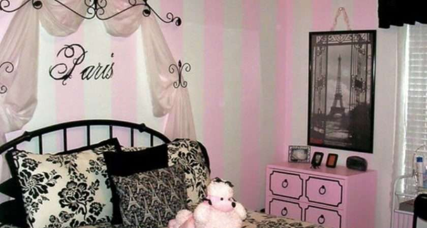 Create Charming Girl Room Paris Style Kidsomania