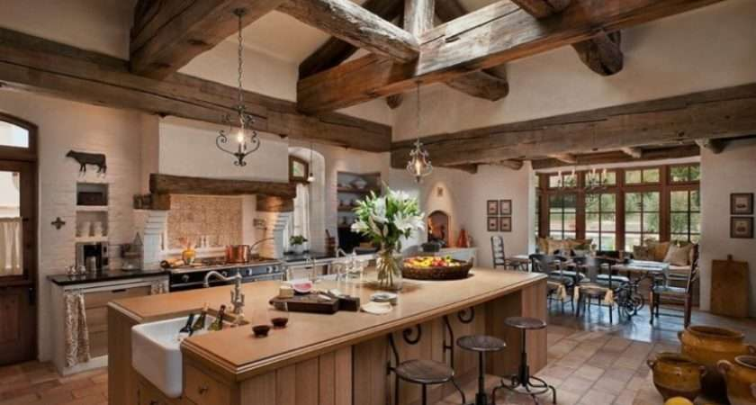Create Classic French Rustic Country Style Kitchen