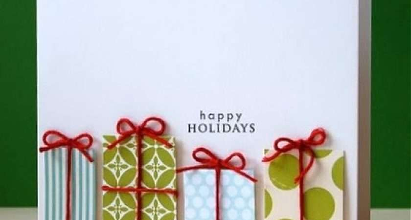 Creative Christmas Cards Paper Quilling Make Diy Cute