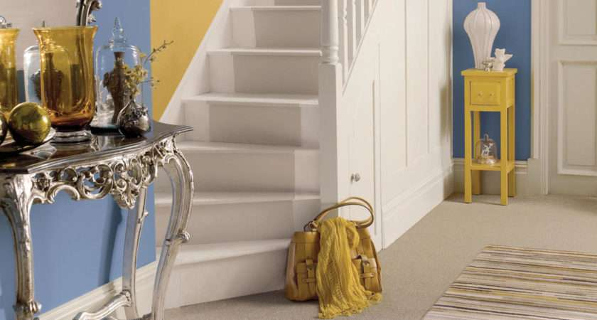 Creative Colour Make Statement Your Hallway Daring