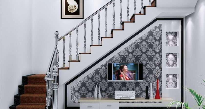 Creative Ideas Spaces Under Stairs