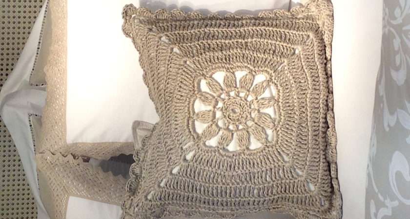 Crochet Cushion Zara Home Knitting Pinterest