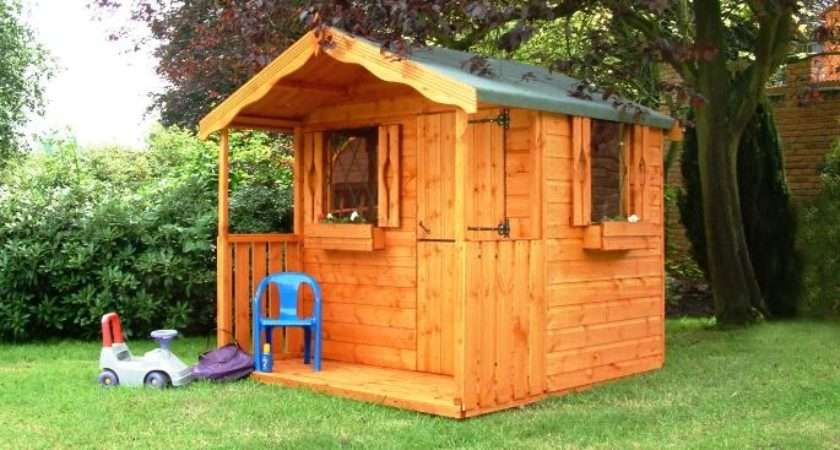 Croft Wendy House Childrens Wooden Playhouse Stable Door